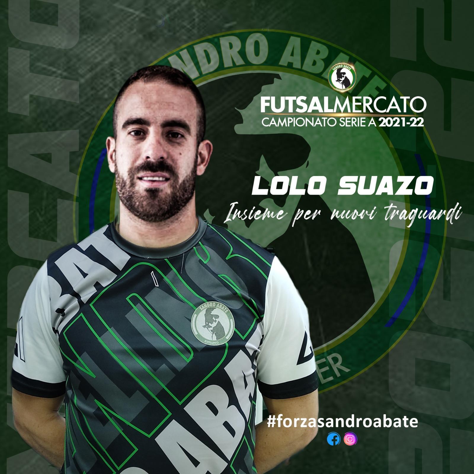 Il Sandro Abate riabbraccia il mancino di Lolo Suazo
